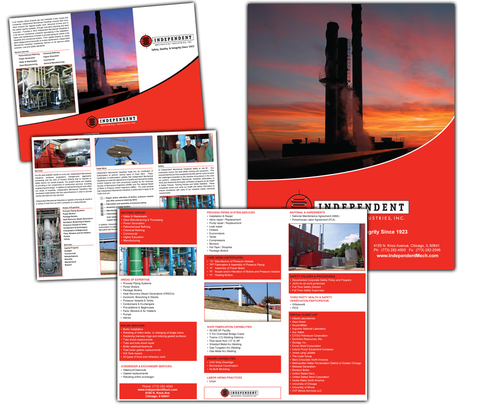 Independent Mechanical, Inc. – Marketing Materials