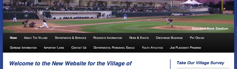 Village of Crestwood – Website
