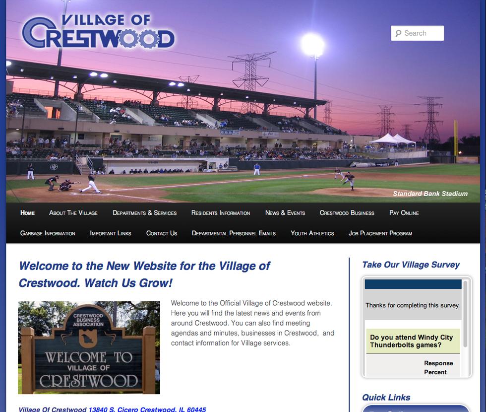 Village of Crestwood – Website