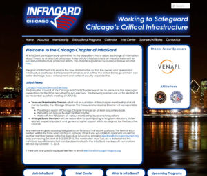 thumbnail for Infragard - Chicago Chapter - Website