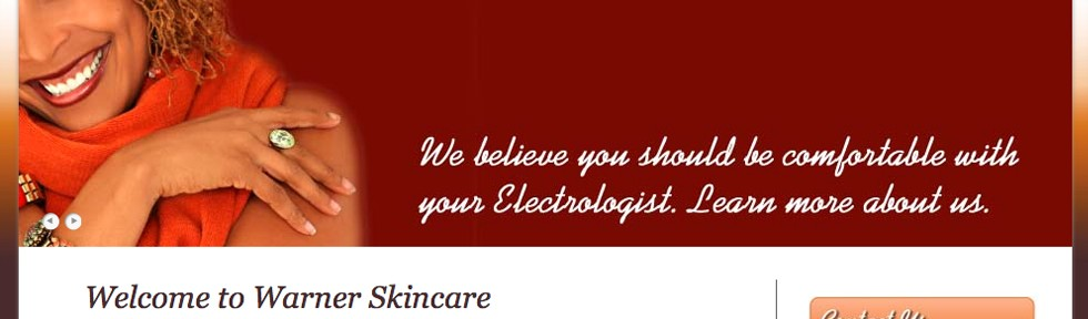 Warner Skincare – Website