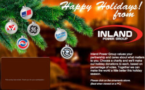 thumbnail for Inland Power Group- Holiday Card 2011