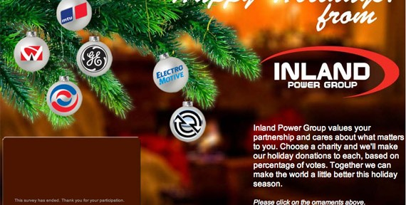 Inland Power Group- Holiday Card 2011