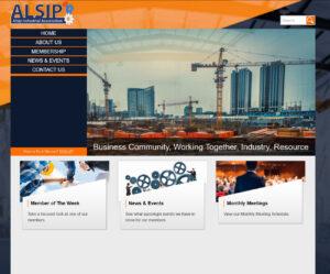 Screenshot alsip industrial association