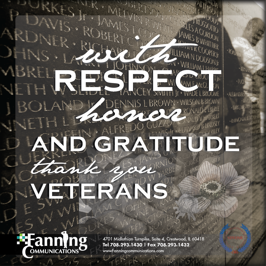 Honoring All Who Served.. This Veterans Day