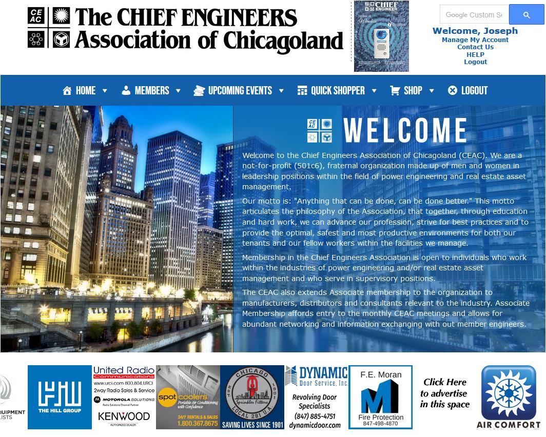 Chief Engineer Association – Online Membership
